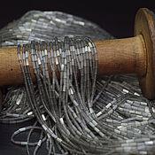 Бисер ручной работы. Ярмарка Мастеров - ручная работа Бисер сатиновые тубы. Handmade.