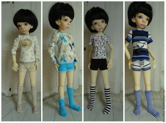 Комплекты белья для куклы БЖД - мальчика.