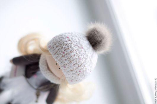 Коллекционные куклы ручной работы. Ярмарка Мастеров - ручная работа. Купить Кукла Настя. Handmade. Серый, подарок на любой случай