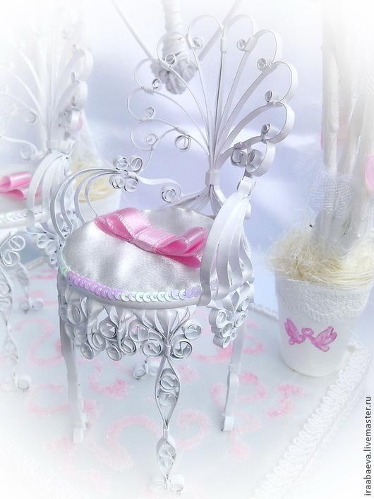 Свадебные аксессуары ручной работы. Ярмарка Мастеров - ручная работа. Купить Подушечка для колец Аллея любви. Handmade. Бледно-розовый