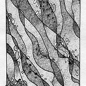 Картины и панно ручной работы. Ярмарка Мастеров - ручная работа Музыка речных камешков.. Handmade.