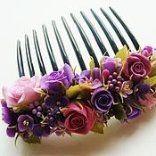 Украшения ручной работы. Ярмарка Мастеров - ручная работа Гребень для волос. Handmade.