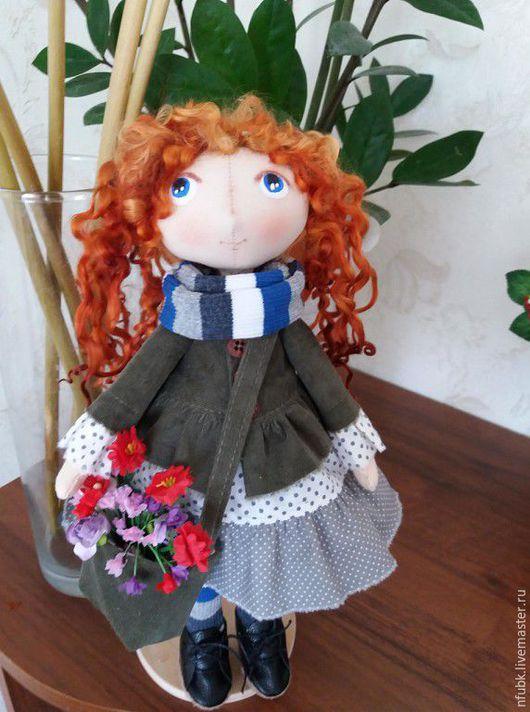 Коллекционные куклы ручной работы. Ярмарка Мастеров - ручная работа. Купить Кукла городская модница. Handmade. Комбинированный, интерьерная кукла