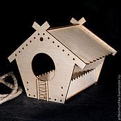 Для домашних животных, handmade. Livemaster - original item A bird feeder from a tree