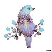 Украшения handmade. Livemaster - original item Brooch-the bird