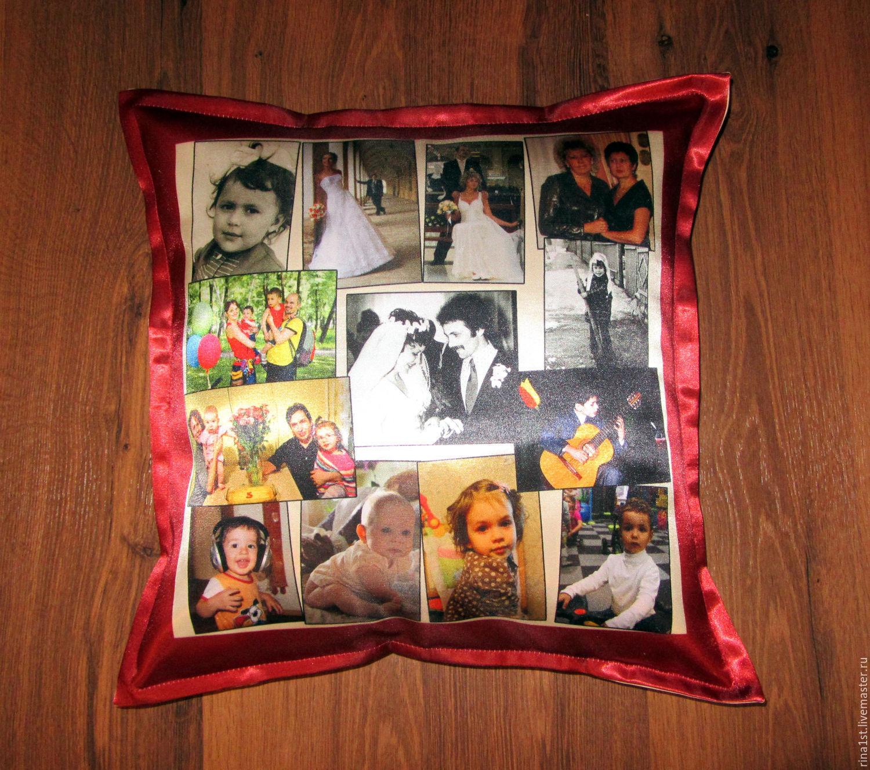 подушки с фото срочное изготовление