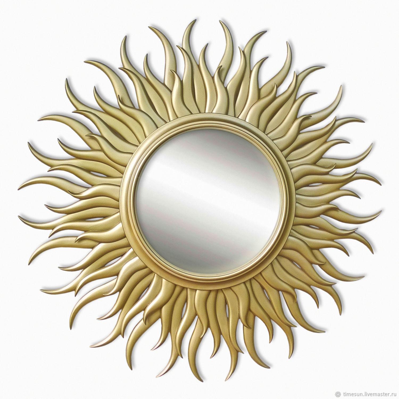 "Зеркало солнце ""Гелиос"" золотое, Зеркала, Новочеркасск,  Фото №1"