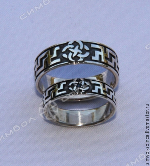 Rings of well-Being with a wedding Ring (Vyazma in a circle), Folk decorations, Sochi,  Фото №1