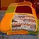 Текстиль, ковры ручной работы. Шерстяной плед. Яна Матвеева (Podarimiruteplo). Ярмарка Мастеров. Подарок женщине, покрывало, плед вязаный