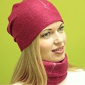 Аксессуары handmade. Livemaster - original item The hat felted.Work to order.. Handmade.