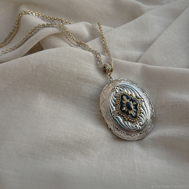 Винтаж: Медальон Тейи - ожерелье 1928 Jewelry, Колье винтажные, Москва,  Фото №1