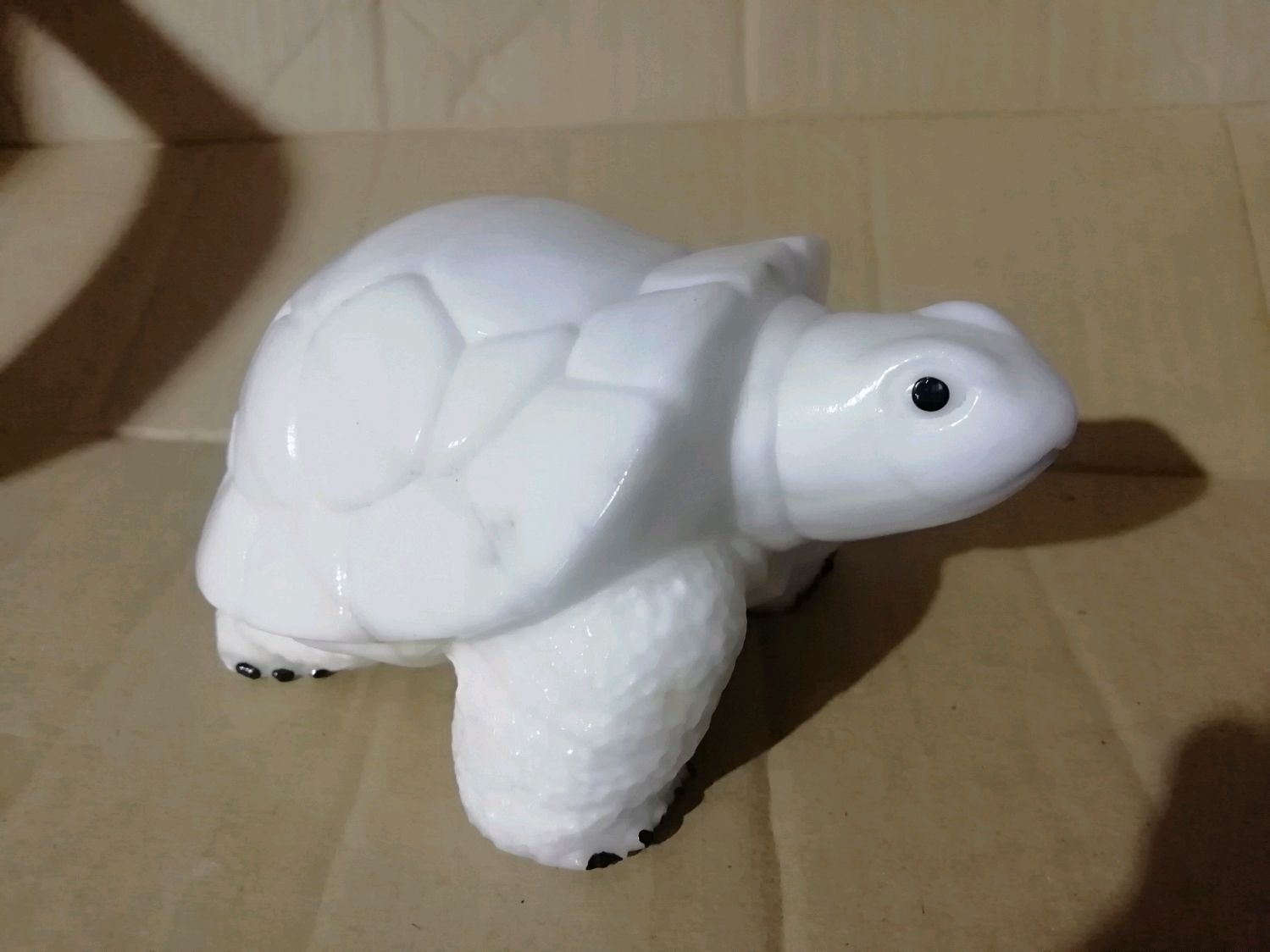 Turtle from natural Ural ornamental stone Calcite Anhydrite, Figurines, Horde,  Фото №1
