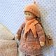 Вальдорфская игрушка ручной работы. Заказать Кнопочка, 25 см. svetlana. Ярмарка Мастеров. Вальдорфская игрушка, кукла ручной работы
