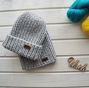 Аксессуары ручной работы. Ярмарка Мастеров - ручная работа Стильная шапка из альпаки. Handmade.