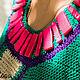 Платья ручной работы. Платье Fruittella. VIKULOVA Hand Made. Интернет-магазин Ярмарка Мастеров. Платье, платье-трапеция