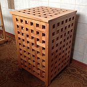 Для дома и интерьера handmade. Livemaster - original item basket: Laundry basket made of solid beech wood ECO style. Handmade.