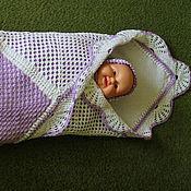 Работы для детей, ручной работы. Ярмарка Мастеров - ручная работа детское одеяло. Handmade.