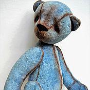 Куклы и игрушки ручной работы. Ярмарка Мастеров - ручная работа Мишка - Тедди BLUE BERRY. Handmade.