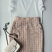 Одежда handmade. Livemaster - original item chanel style skirt. Handmade.