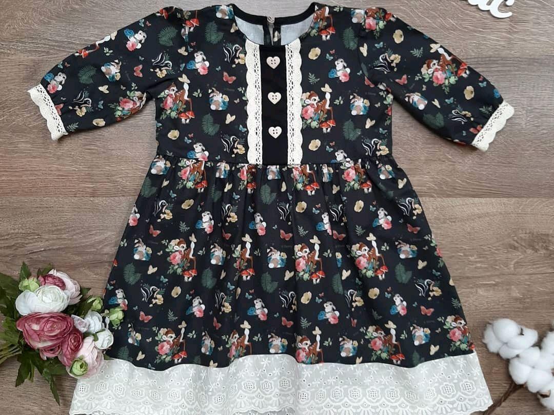 """Одежда для девочек, ручной работы. Ярмарка Мастеров - ручная работа. Купить Платье для девочки """"Бэмби"""". Handmade. Платье, хлопковое платье"""