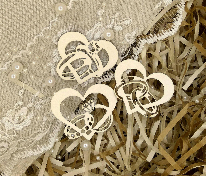 Чипборд Обручальные кольца, Вырубки для скрапбукинга, Челябинск,  Фото №1