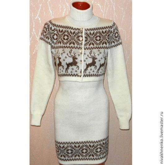 Для будущих и молодых мам ручной работы. Ярмарка Мастеров - ручная работа. Купить Платье-свитер вязаное для кормления Новинка (2). Handmade.