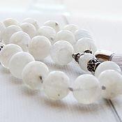 Фен-шуй и эзотерика handmade. Livemaster - original item Moon rosary made of moonstone. Handmade.