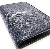Канцелярские товары handmade. Livemaster - original item Passport cover and polished leather Stingray IMC0079E. Handmade.