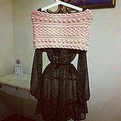Одежда ручной работы. Ярмарка Мастеров - ручная работа Накидка на плечи Oscar de la Renta. Handmade.