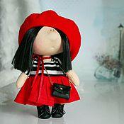 """Куклы и игрушки ручной работы. Ярмарка Мастеров - ручная работа Игровая кукла """"Парижанка"""". Handmade."""