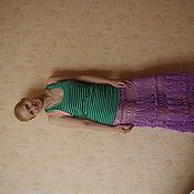 Одежда ручной работы. Ярмарка Мастеров - ручная работа юбка каскады облаков. Handmade.