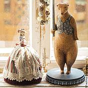 """Для дома и интерьера ручной работы. Ярмарка Мастеров - ручная работа Лампа """"Медведь"""". Handmade."""