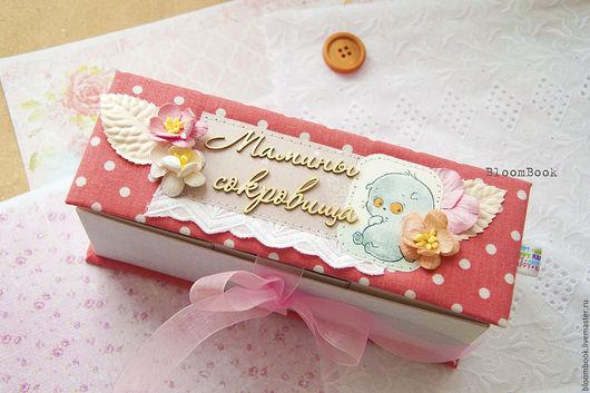 Для новорожденных, ручной работы. Ярмарка Мастеров - ручная работа. Купить Мамины сокровища для девочки. Handmade. Комбинированный, подарок на крестины