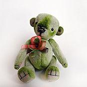 Куклы и игрушки ручной работы. Ярмарка Мастеров - ручная работа Мишка Гринни. Handmade.