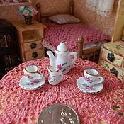 Аксессуары для кукол и игрушек ручной работы. Ярмарка Мастеров - ручная работа Посуда для кукол, фарфор, Китай. Handmade.