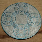 Фен-шуй и эзотерика handmade. Livemaster - original item Amulet-Elven tray. For luck, success, luck, well-being. Handmade.