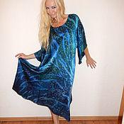 Одежда ручной работы. Ярмарка Мастеров - ручная работа платье - Брызги океана. Handmade.