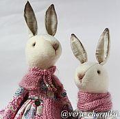 Куклы и игрушки ручной работы. Ярмарка Мастеров - ручная работа Grace и Lucy.Текстильные крольчики.. Handmade.