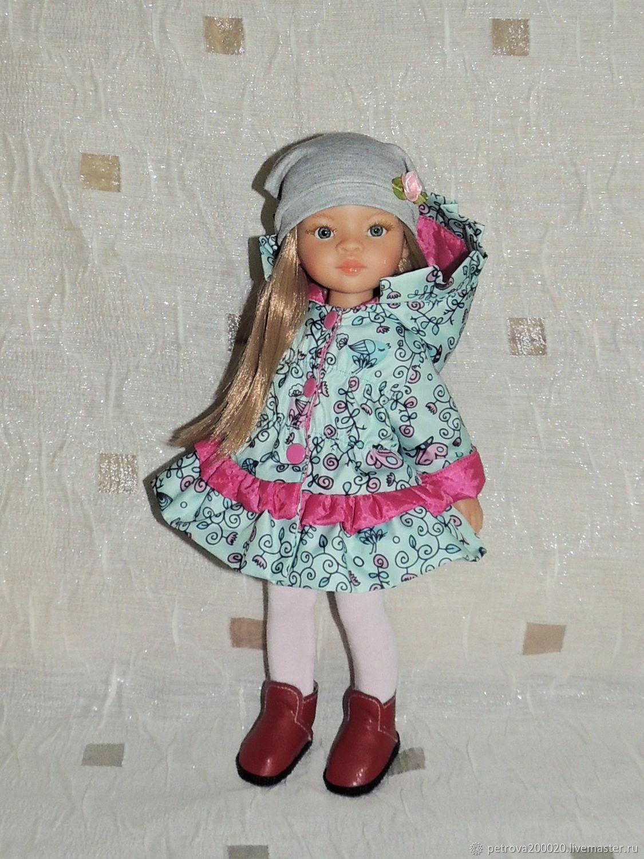 Пальто с рюшами для Паола Рейна, Одежда для кукол, Санкт-Петербург,  Фото №1