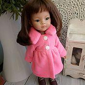 Одежда для кукол ручной работы. Ярмарка Мастеров - ручная работа Пальто для Паола Рейна. Handmade.