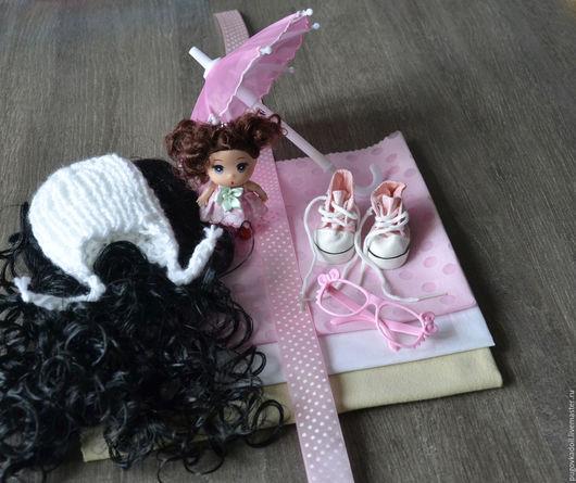 Куклы и игрушки ручной работы. Ярмарка Мастеров - ручная работа. Купить Набор для шитья куклы Евгения. Handmade. Бледно-розовый
