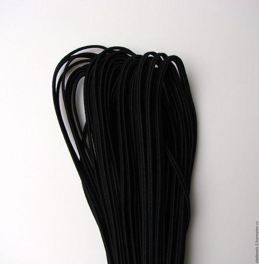 Для украшений ручной работы. Ярмарка Мастеров - ручная работа. Купить Чёрный сутаж белорусский 2,5мм. Handmade. Сутаж