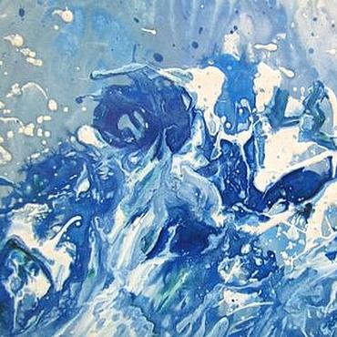 Картины и панно ручной работы. Ярмарка Мастеров - ручная работа Сердце волны. Handmade.