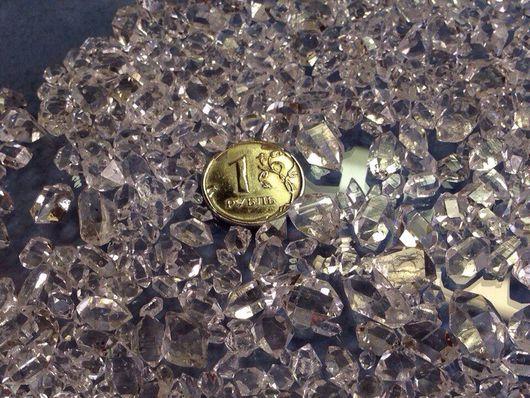 Для украшений ручной работы. Ярмарка Мастеров - ручная работа. Купить Алмазы херкимера (10-20штук +-) 1 грамм ( 5 карат ). Handmade.