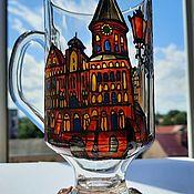 Посуда handmade. Livemaster - original item Mug for hot drinks