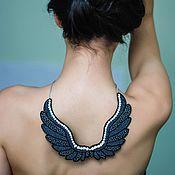 Украшения ручной работы. Ярмарка Мастеров - ручная работа Колье Angel Wings (Dark Angel). Handmade.