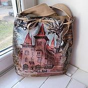 Сумки и аксессуары handmade. Livemaster - original item Leather bag in tarbock for Olga.. Handmade.