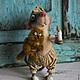 """Игрушки животные, ручной работы. Ярмарка Мастеров - ручная работа. Купить """"Не бойся, я с тобой!"""". Handmade. Серый, мышь, рыжий"""