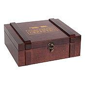 Сувениры и подарки handmade. Livemaster - original item Gift packaging: men`s gift box souvenir box. Handmade.