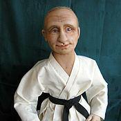 Куклы и игрушки ручной работы. Ярмарка Мастеров - ручная работа Портретная кукла Чемпион. Handmade.